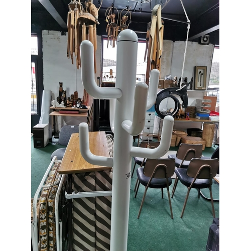 47 - Modern Coat Stand On Weighted Base