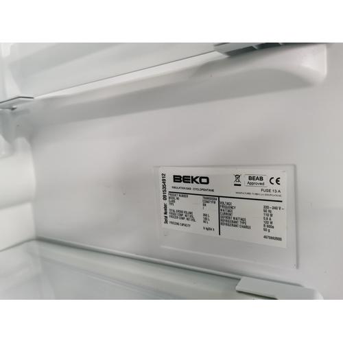 55 - Working Beko A Class Frost Free Fridge Freezer 154cm Tall By 60cm Wide By 58cm Deep