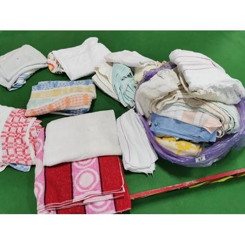 57 - Two Bags Full Of Various Towels