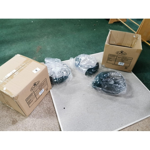 8 - Quantity Of 6 Bird Feeders One Boxed Sealed (2)