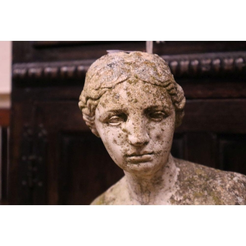 10 - <B>A reconstituted stone figure of Venus, height 85cm</b></i>...