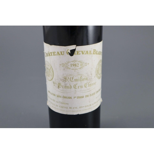 2 - <B>A bottle of Chateau Cheval Blanc St Emilion 1982</b></i><br><br>CONDITION: Looks to be in very go...