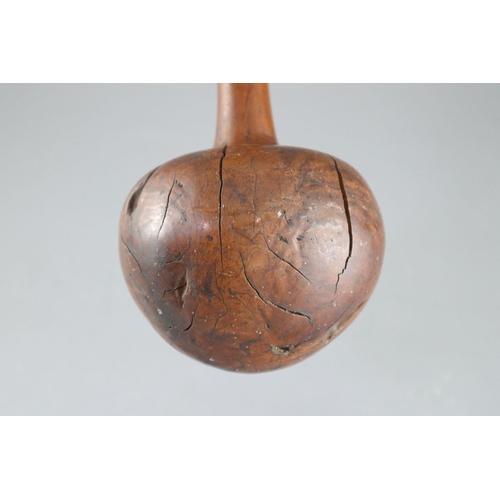 21 - <B>A 19th century Fijian Ula throwing club,</b></i> with geometric carved handle, <I>length 15.75in....
