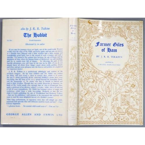 26 - °  Tolkien, John Ronald Reuel - Farmer Giles of Ham, 1st edition, illustrated by Pauline Baynes, ori...