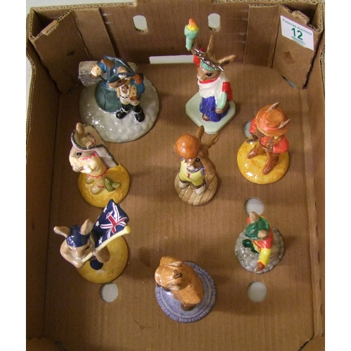 12 - Royal Doulton Bunnykins figures: Liberty Bell DB257 (boxed with cert) Statue of Liberty DB198 (boxed...