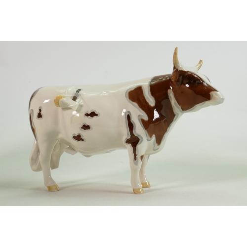 20 - Beswick Ayrshire Bull 1454B: leg detached but present