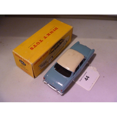 44 - dinky toys french simca versailles (model E box G complete)...