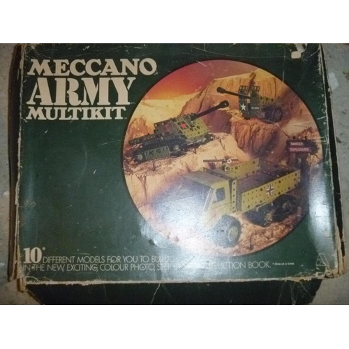 4 - meccano army construction kit (unchecked for completeness)