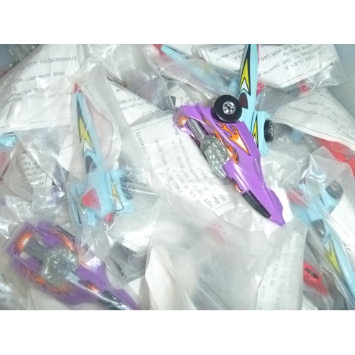 23 - qty of 1980's hot wheels promotional vehicles all sealed in baggies, much duplication approx 30...