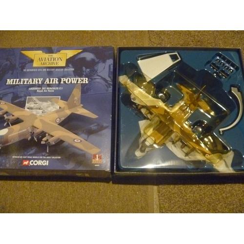 27 - corgi toys aviation archive lockheed 382, model appears unused....