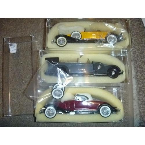 39 - 3 rio models as found including mercedes grande tourer