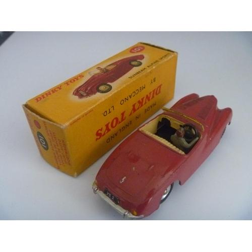 54 - DINKY TOYS (MODEL VG BOX G) SUNBEAM ALPINE SPORTS