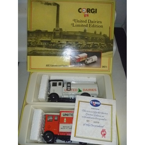 corgi classics united dairies limited edition