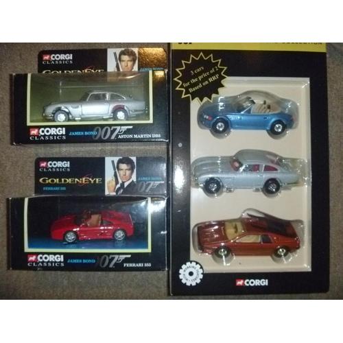 corgi james bond cars boxed