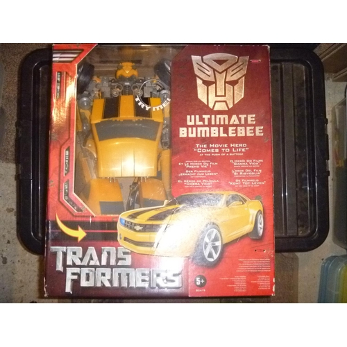 transformers ultimate bumble bee, opened, unchecked