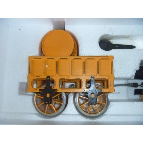 10 - Hornby Railways Stephenson's Rocket Live Steam Train set 3.5 inch gauge, untested for function or co...