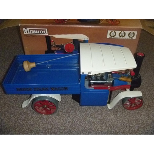 16 - Mamod Live Steam Wagon SW1, based on a Sentinel, untested for function or completeness but appears t...