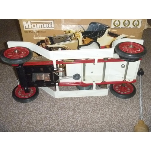 17 - Mamod Live Steam Roadster SA1, untested for function or completeness but appears to have had only li...