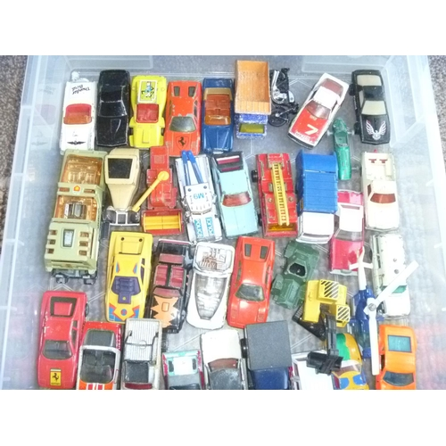 20 - A good quantity of mainly Matchbox loose and play-worn examples....