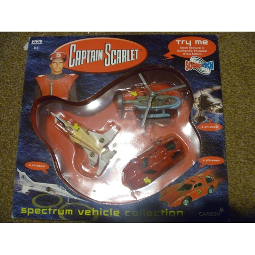 50 - CAPTAIN SCARLET GERRY ANDERSON SPECTRUM VEHICLE COLLECTION...