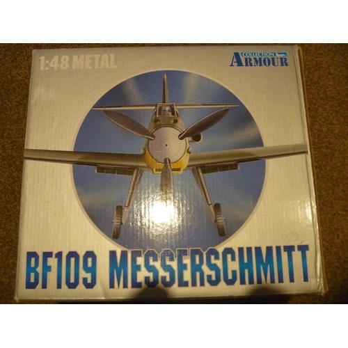 57 - ARMOUR COLLECTION BF109E MESSERSCHMITT AIRCRAFT...