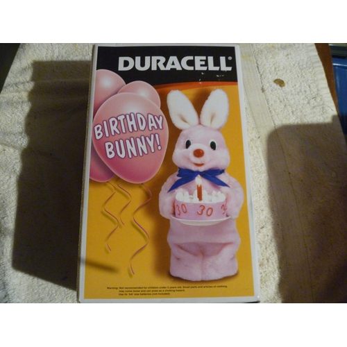 DURACELL BIRTHDAY BUNNY