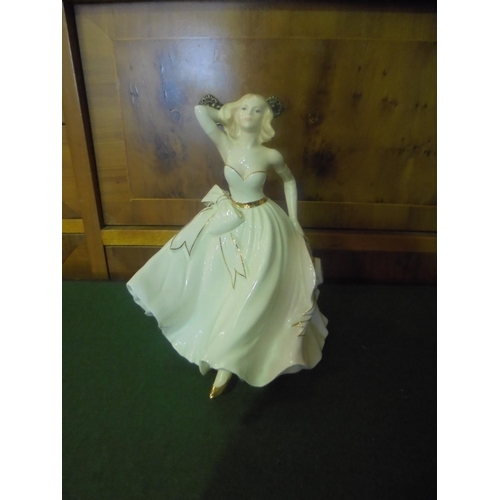 11 - Coalport Grosvenor collection Tess figurine...