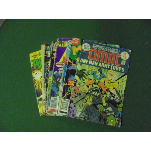 48 - Collection of 13 DC & Atlas vintage comics...