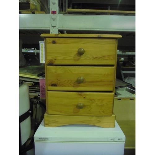 15 - Pine bedside cabinet...
