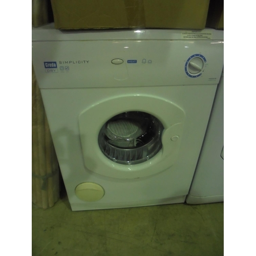 8 - Creda dry simplicity tumble dryer with vent...