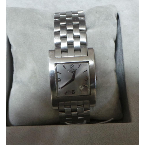 39 - Gents Longines Bracelet Watch...