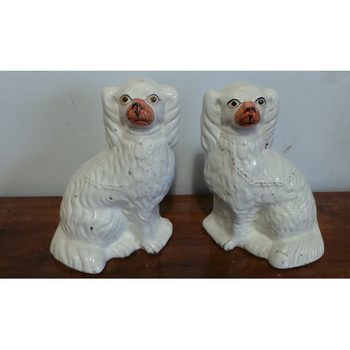 54 - Pair of Dog Ornaments...