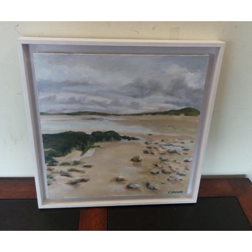 51 - Caroline Browne Oil Painting - Mayo Beach...