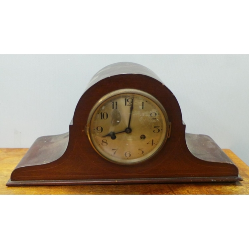25 - Mahogany Mantel Clock...