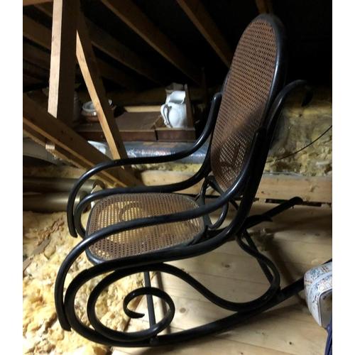 54 - Bentwood Rocking Chair...