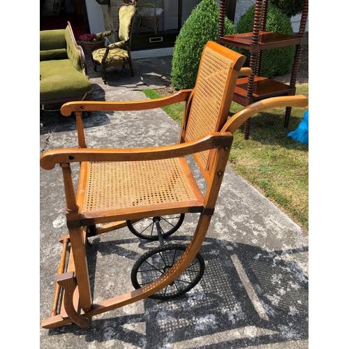 59 - Antique Wheelchair...