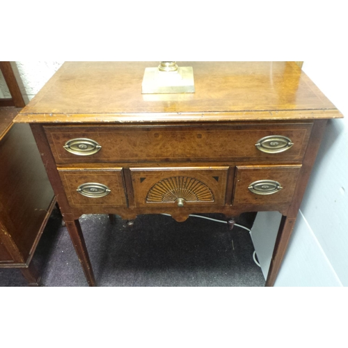 38 - Low Boy Style Side Table with 1 Long Drawer and 3 Small Drawers...
