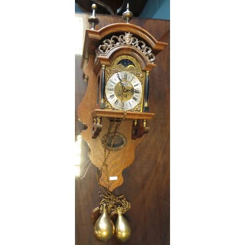 10 - Dutch Style Wall Clock...