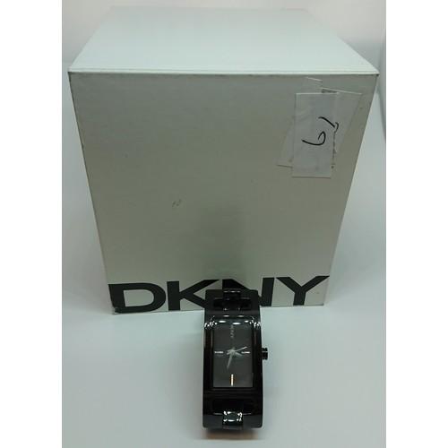 31 - DKNY Ceramic Bracelet Watch, with Original Box & Papers...