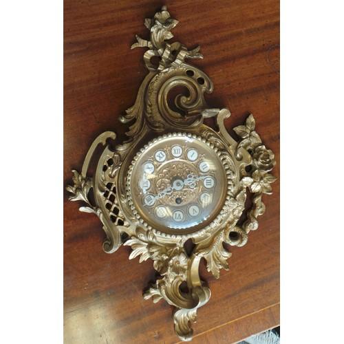 21 - Ornate Wall Clock...