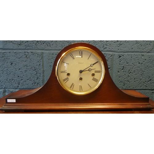 4 - Napoleons Hat Mantel Clock...
