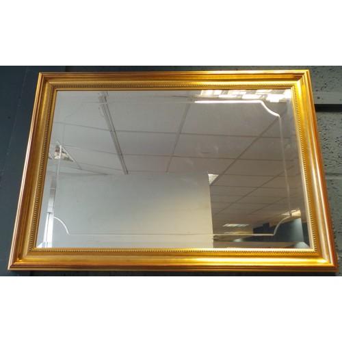 8 - Gilt Framed Mirror - 60cm x 87cm...