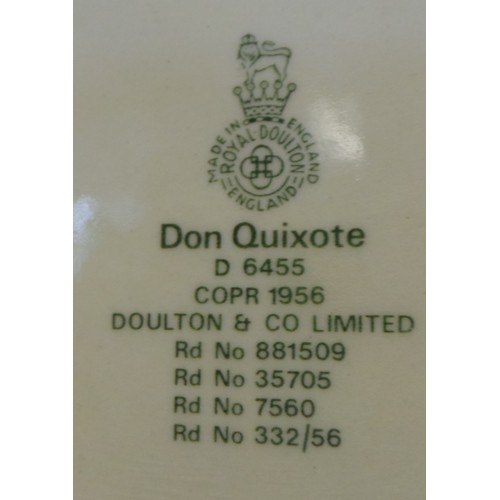 30 - Toby Jug - Don Quixote, Doulton & Co....
