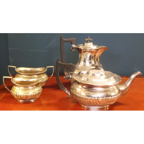 36 - 4 Piece EPNS Coffee and Tea Set...
