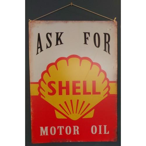 49 - Shell Oil Sign...