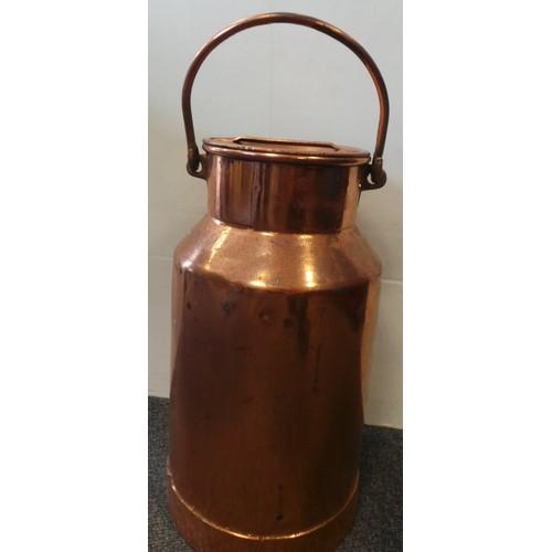 54 - Copper Cream Can...