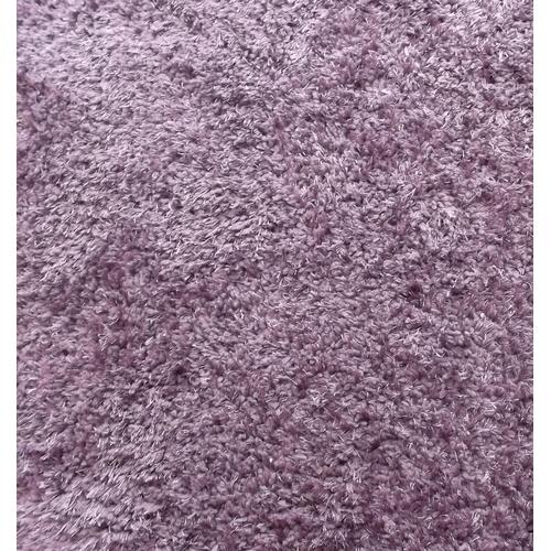 27 - Purple/Lilac Shaggy Rug 220cm x 100cm...