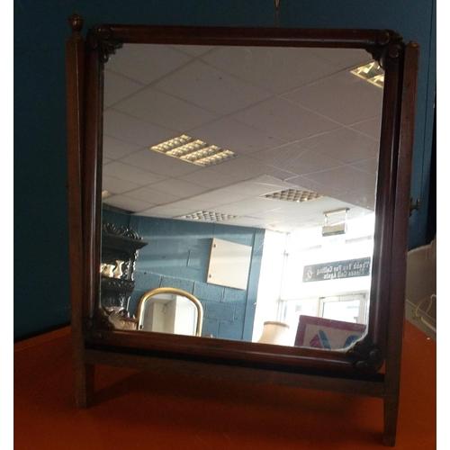 46 - Mahogany Dressing Table Mirror...