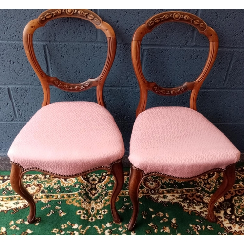 1 - Pair of Bedroom Chairs