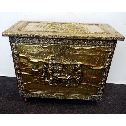29 - Brass Log Box